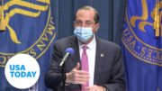 HHS Secretary Azar holds press conference on COVID vaccine | USA TODAY 2