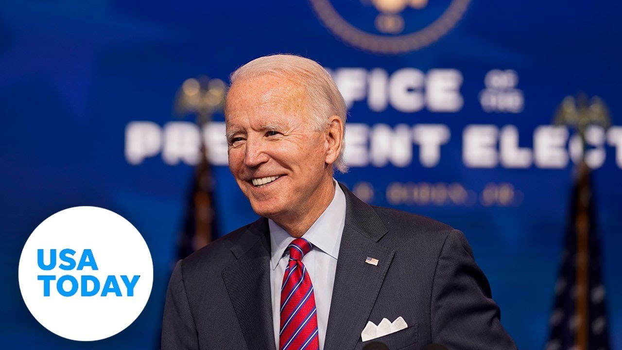 President-elect Biden speaks after electoral college certifies election win   USA TODAY 1