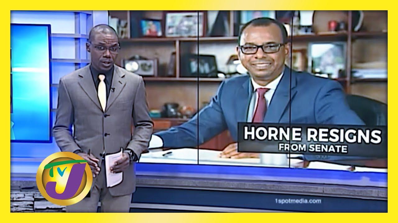 Horne Resigns from Senate - December 11 2020 1