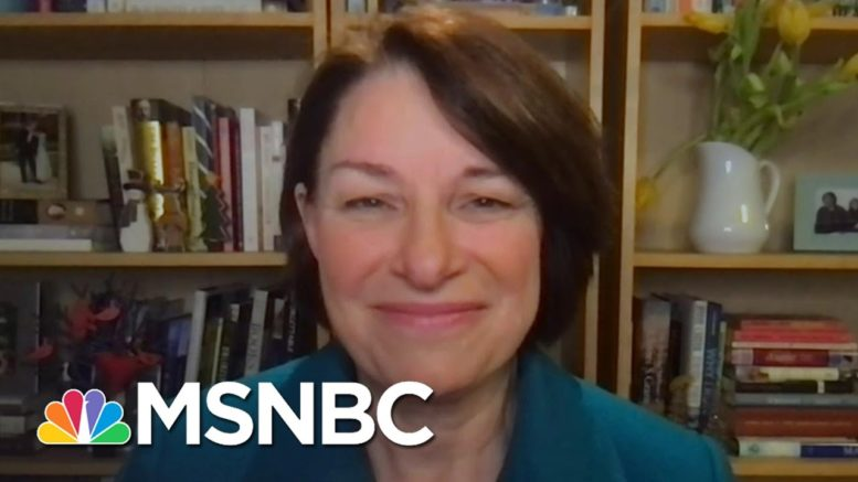 Klobuchar: House 'Will Overrule These Frivolous Objections' By Trump Allies | The Last Word | MSNBC 1