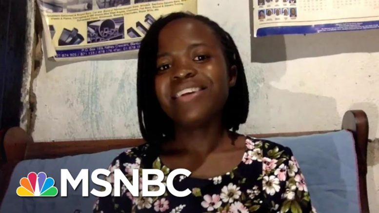 Joyce Chisale: 'I Can Have Something To Share With The World' | The Last Word | MSNBC 1