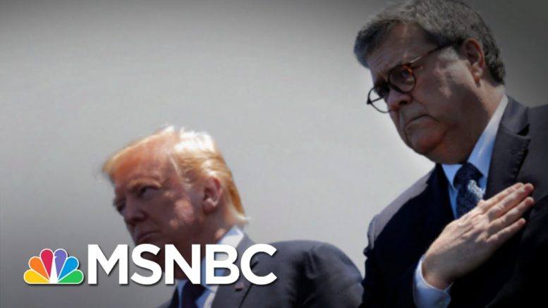 Fmr. Federal Prosecutor: Barr's The Worst AG In My Lifetime | The 11th Hour | MSNBC 1
