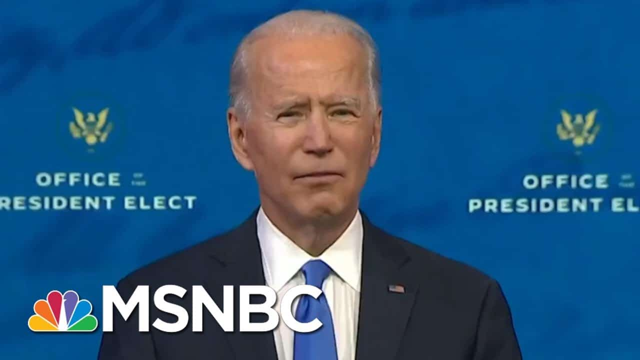Biden's Win Confirmed, Vaccinations Begin, AG Barr To Step Down | Morning Joe | MSNBC 1