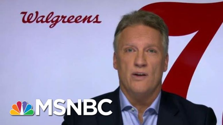 Walgreens Medical Officer Projects When Chain Could Offer Vaccine | Morning Joe | MSNBC 1