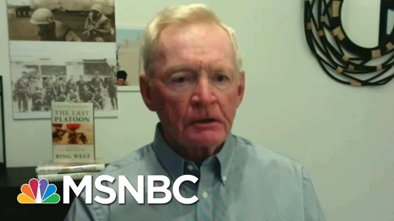 Author And Veteran Weighs In On Troop Withdrawal, New Book   Morning Joe   MSNBC 1