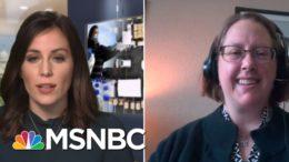 Food Pantry Worker Describes 'Stigma' Around Needing Assistance | Hallie Jackson | MSNBC 3