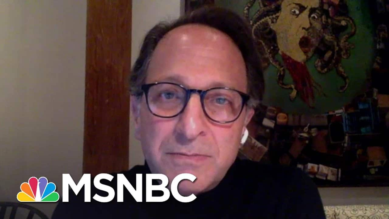 Andrew Weissman Calls Bill Barr's Legacy At The Department Of Justice 'Horrific' | Deadline | MSNBC 1