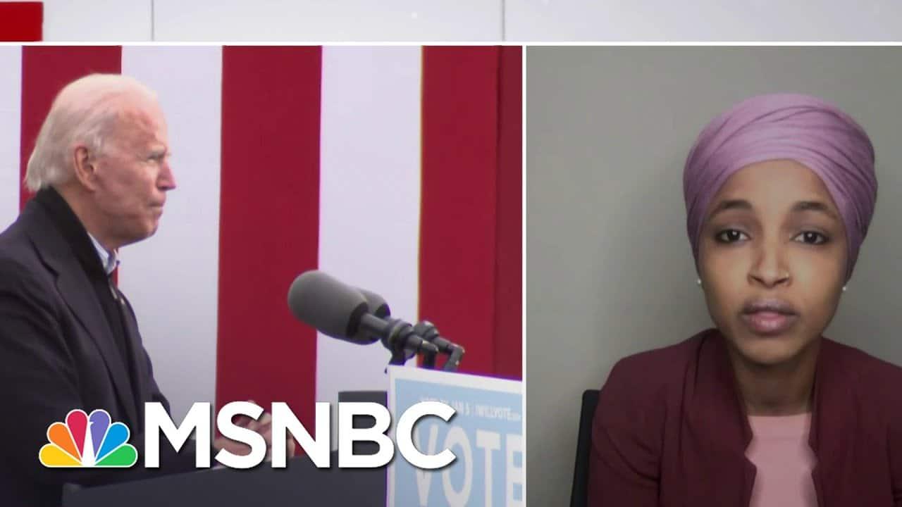 Rep. Ilhan Omar (D-MN) On Progressive Goals For The Biden Transition | Ayman Mohyeldin | MSNBC 1