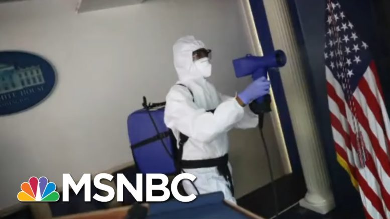 WH Security Chief Loses Leg To Severe Covid, Suffers 'Staggering' Medical Costs | All In | MSNBC 1