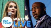 Georgia U.S. Senate runoff: Kelly Loeffler and Raphael Warnock debate in Atlanta (LIVE) | USA TODAY 4