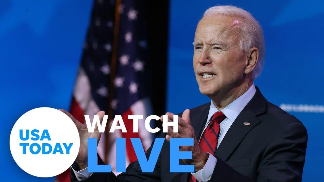 President-elect Biden transition press conference 1