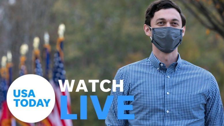 Georgia U.S. Senate runoff: Jon Ossoff's final forum before January election (LIVE)   USA TODAY 1