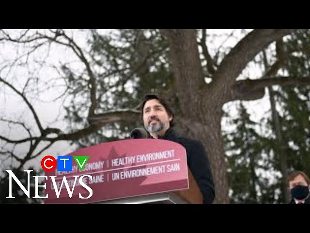 Trudeau: There's no vaccine for polluted planet | Federal climate action plan unveiled 1