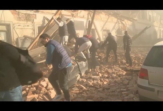 Magnitude 6.3 earthquake hits Croatia 1