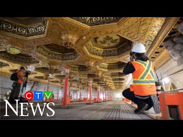 A look inside Parliament Hill's Centre Block renovations 8