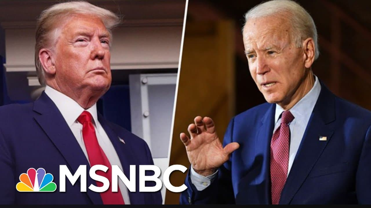 As Biden Awaits Inauguration, Trump's Chaotic Term Comes To An End | The 11th Hour | MSNBC 1