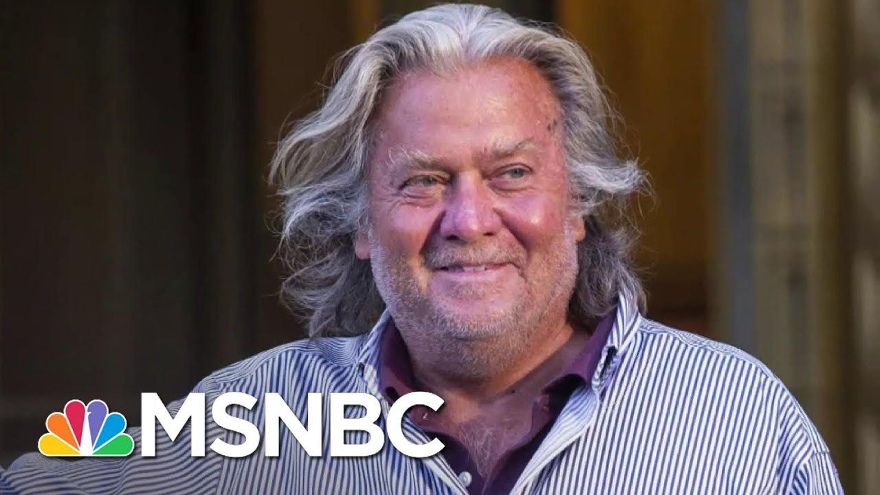Trump Pardons Steve Bannon According To NYT Report   The 11th Hour   MSNBC 1