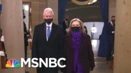 Clintons Arrive At The Capitol. For Joe Biden's Inauguration | MTP Daily | MSNBC 7