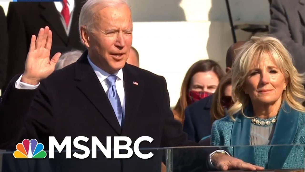 Joe Biden Sworn In As The 46th President Of The United States | MSNBC 1