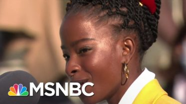 National Youth Poet Laureate Amanda Gorman Recites Poem At Biden Inauguration   MSNBC 6