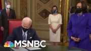 President Biden Signs Inauguration Day Proclamation And Cabinet-Level Nominations   MSNBC 5