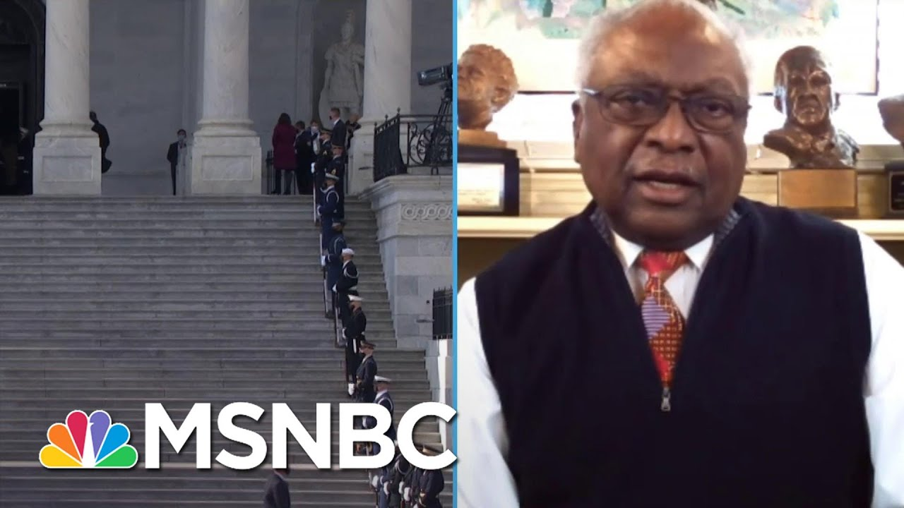 Rep. Clyburn: Biden Took Steps To Restore 'Goodness So That We Can Maintain Our Greatness' | MSNBC 1