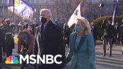 President Joe Biden Walks The Final Portion Of The Inaugural Parade | MSNBC 3