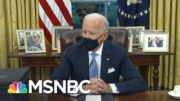 Biden Brings Personal Touch To Oval Office With 'Towering Figures From American History' | MSNBC 4