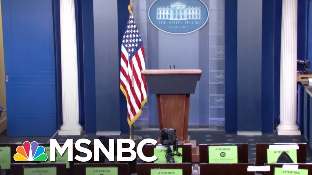Biden Administration Hopes To Bring Back Daily Briefings | MSNBC 1