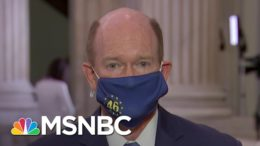 Sen. Coons: The Senate Must Help Clean Up The 'Disaster' Trump Left Behind | MSNBC 7