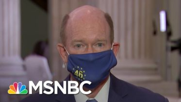 Sen. Coons: The Senate Must Help Clean Up The 'Disaster' Trump Left Behind | MSNBC 6