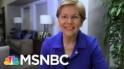'Heading In The Right Direction': Senator Warren Enthusiastic About New Biden Agenda | MSNBC 5