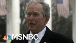 Clinton, Bush, Obama Come Together To Discuss The Importance Of A Peaceful Transfer Of Power   MSNBC 2