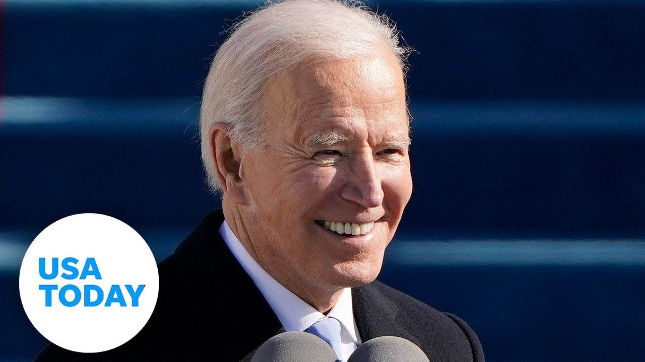 President Joe Biden declares 'democracy has prevailed' in inauguration speech (FULL) | USA TODAY 1