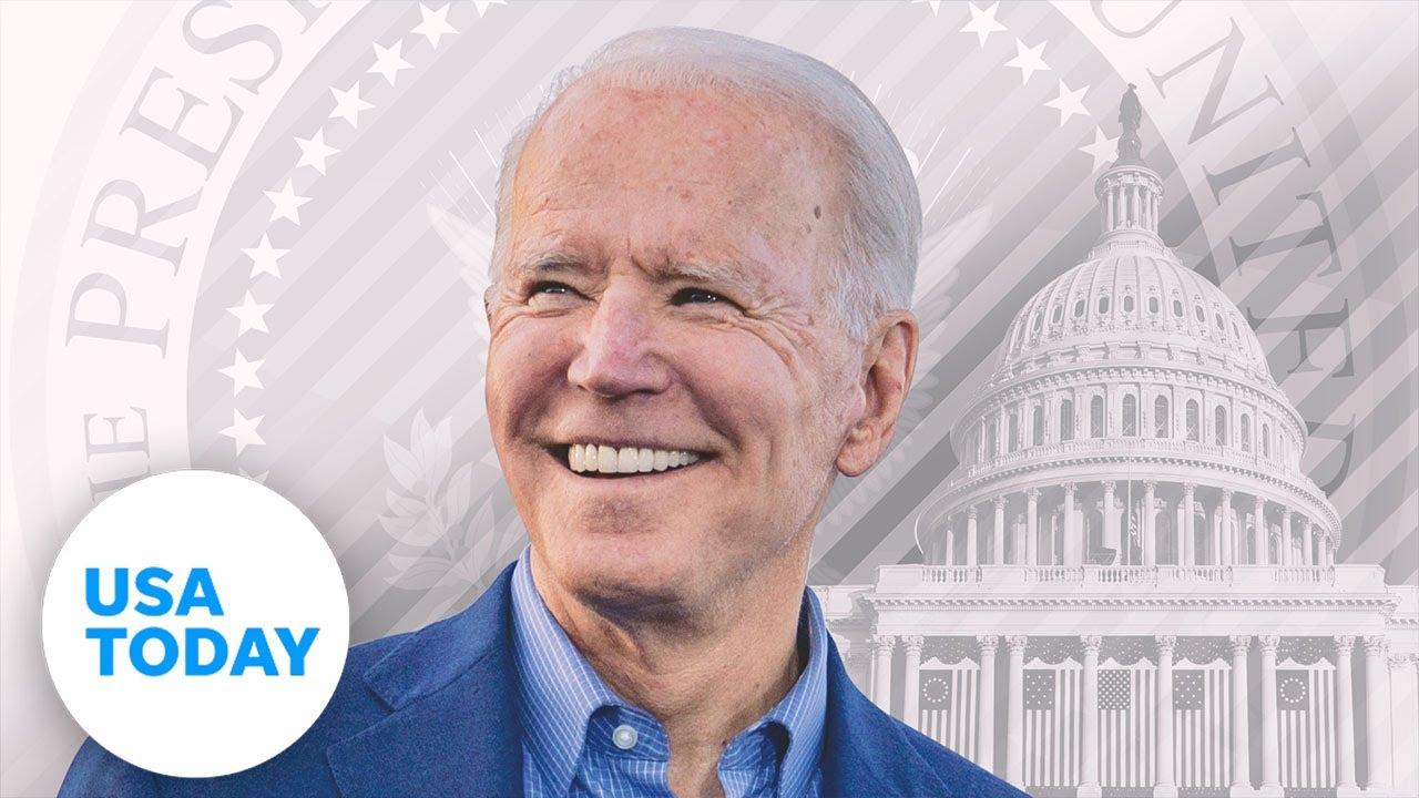Presidential Inauguration of Joe Biden | USA TODAY 9