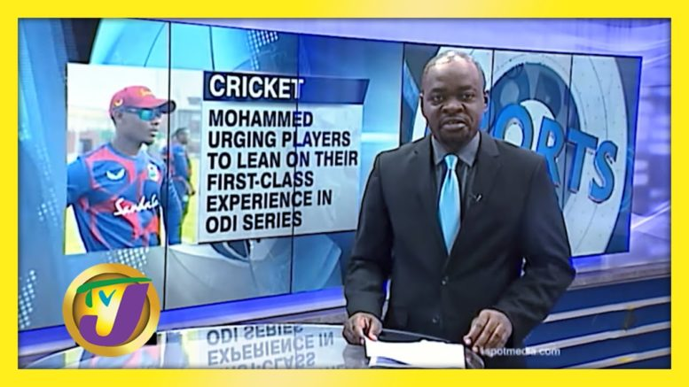 1st Class Experience is Key to ODI Series - January 19 2021 1