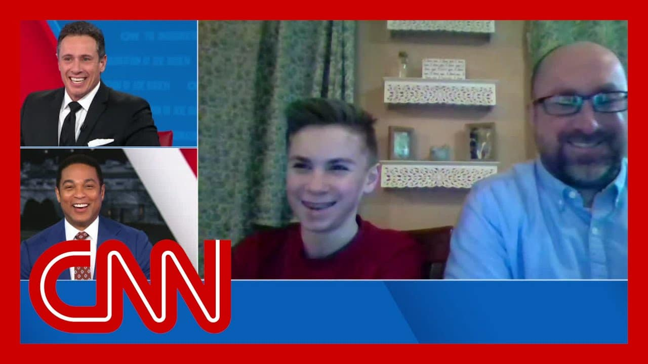 'I feel more confident about most things I do' - 13-year-old on bonding with Joe Biden over stutter 1