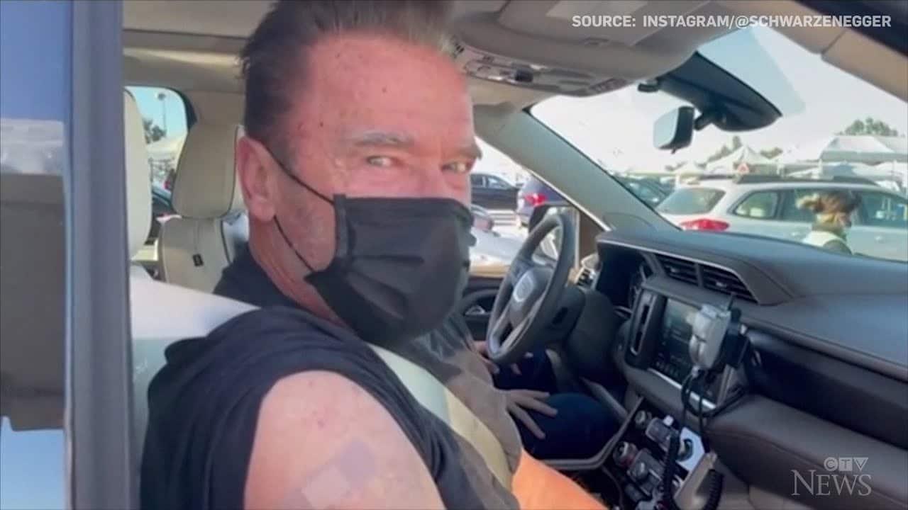 Schwarzenegger advocates for vaccine with 'Terminator' quote 1