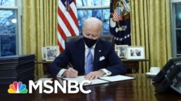 Biden Gets To Work Undoing Trump Policies After Inauguration | The 11th Hour | MSNBC 3