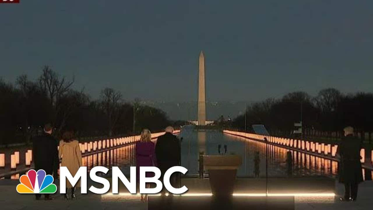 'A Very Cathartic Moment': MJ Panel On Inauguration, Memorial Ceremony | Morning Joe | MSNBC 8