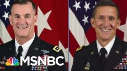 WaPo: Meeting On Military Response To Trump Riot Included Flynn's Brother | Rachel Maddow | MSNBC 4