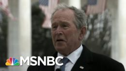 Maddow: Ex-Presidents' Call For Unity A Sign Of Depth Of U.S. Crisis Of Division | Rachel Maddow 8