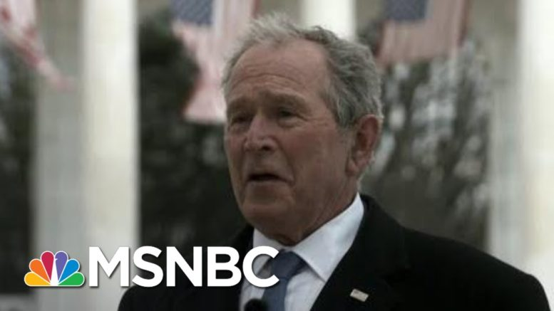 Maddow: Ex-Presidents' Call For Unity A Sign Of Depth Of U.S. Crisis Of Division | Rachel Maddow 1