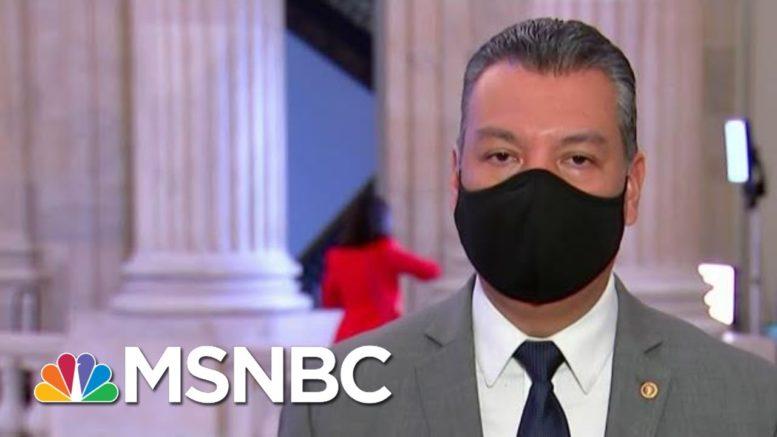 Sen. Padilla: Covid Response Is Top Priority As New Senator | Morning Joe | MSNBC 1