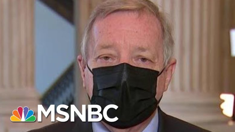 Sen. Durbin: Those Who Raided Capitol Must Be Held Accountable | Morning Joe | MSNBC 1