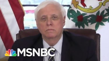 WV Governor Justice Reacts To President Biden Taking Office   Stephanie Ruhle   MSNBC 6