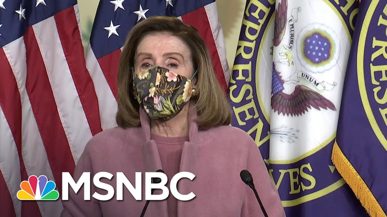 Pelosi Discusses 'Big Difference' In Evidence For Trump's Second Impeachment Trial | MSNBC 5