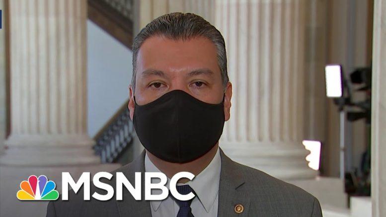 Sen. Padilla: Comprehensive Immigration Reform 'Is Long Overdue' | Andrea Mitchell | MSNBC 1