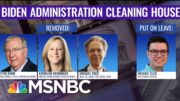 Biden Removes Controversial Trump Appointees From Key Posts   The ReidOut   MSNBC 5