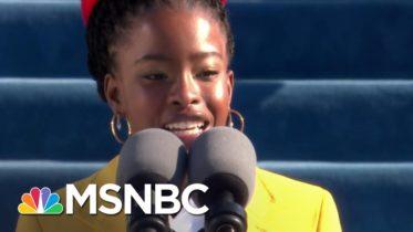 Joy Reid Says Amanda Gorman Is 'The America That Won' On Inauguration Day   The ReidOut   MSNBC 6